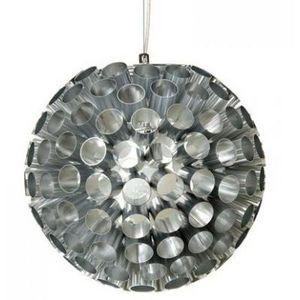 Present Time - lustre rondo alu argent - Lámpara Colgante