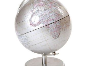 NetCadeau - globe argent - Globo Terrestre