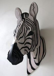 SYLVIE DELORME - zèbre - Escultura De Animal
