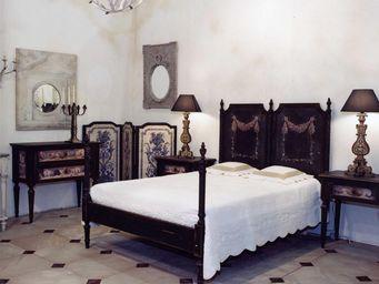 PROVENCE ET FILS - lit coquillages / couchage 140 x 190 / sérigraphie - Cama De Matrimonio