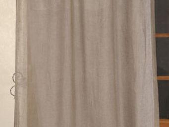 Coquecigrues - paire de rideaux vertu musaraigne - Cortina Confeccionada