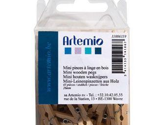 ARTEMIO - mini pinces-�-linge en bois - Pinza De Ropa