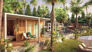TECK TIME - lodge-- - Casa De Madera