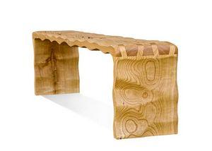 CLEMENS GERSTENBERGER STUDIO - tidelands two bench- - Banco De Jardín