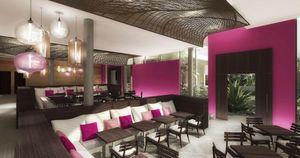 Agence Nuel / Ocre Bleu - taj ponchidery _ - Idea: Restaurante De Hotel