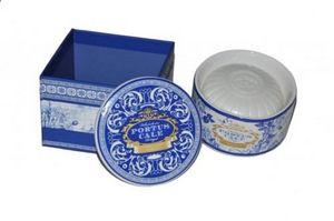 Demeure et Jardin - boite en porcelaine avec son savon - Jabón