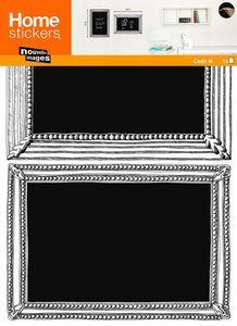 Nouvelles Images - sticker mural cadre dessiné tableau ardoise - Adhesivo