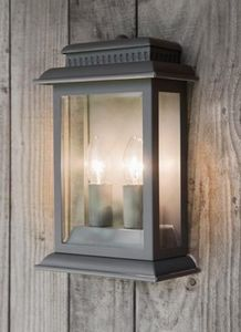GARDEN TRADING - belvedere light in charcoal - Aplique De Exterior