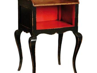 WHITE LABEL - table de chevet - campel - l 52 x l 42 x h 75 - bo - Mesa De Noche