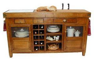 Maison Strosser - billot bahut - Tajo De Cocina