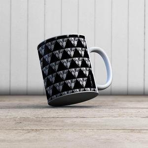 la Magie dans l'Image - mug géométrie végétale - Taza