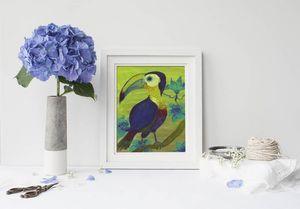 la Magie dans l'Image - print art toucan - Póster