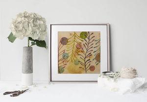 la Magie dans l'Image - print art végétal - Póster