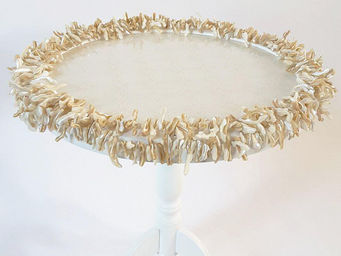 RELOADED DESIGN - mini table verso sud mother of pearl - medium - Velador