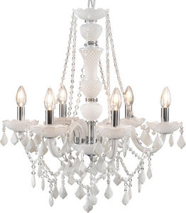 Amadeus - lustre trianon blanc - Araña