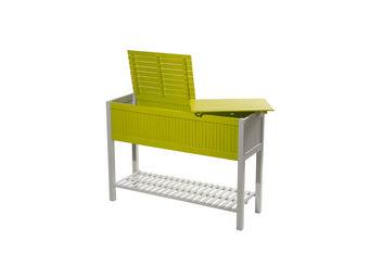 City Green - potager de balcon en acacia hybride burano - 115 x - Cuadrado Para Huerta