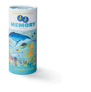 BERTOY - 36 animal memory ocean animals - Juegos Educativos