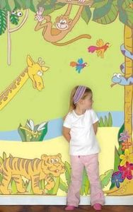 Funtosee - jungle - Adhesivo Decorativo Para Niño