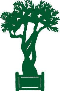 Val De Loire Treillage - silhouette - Ornamento De Jardín