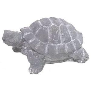 CHEMIN DE CAMPAGNE - statue sculpture tortue de jardin en ciment 22 cm - Ornamento De Jardín