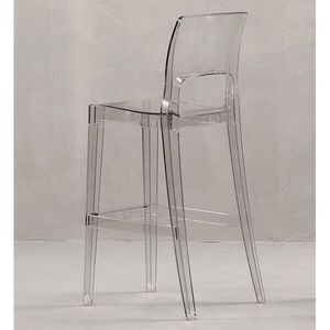 SCAB DESIGN - tabouret transparent easy - Silla Alta