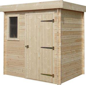 Cihb - abri de jardin moderne en bois non traité futuro - Cobertizo De Jardín