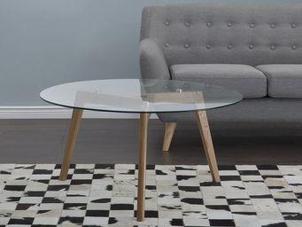 BELIANI - table d'appoint - Mesa De Centro Redonda