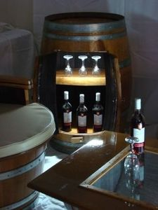 Barrique Meuble Bordeaux -  - Mueble Bar