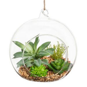 MAISONS DU MONDE - sphère de succulentes  - Planta Artificial