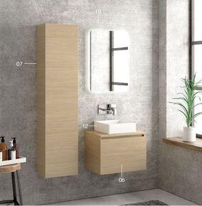 ITAL BAINS DESIGN - space 45 - Mueble De Cuarto De Baño