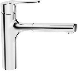 HANSA - ronda mitigeur d'évier monocommande, dn 15, douchette extractible (03342273) - Otro Artículos Para El Baño