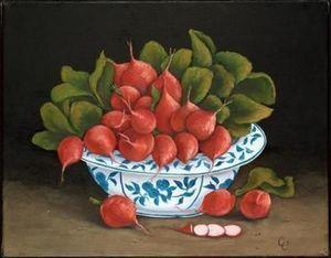 Brookpace Fine Art - radishes - Fotografía