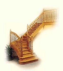Escaliers Flin -   - Escalera Con Tramo Curvo