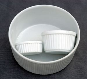 Porcelanne -  - Plato Para Soufflé