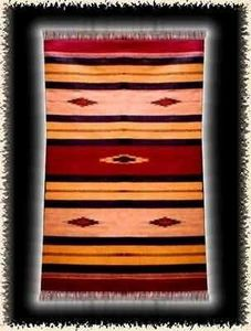 Crafts In India -   - Alfombra Dhurrie
