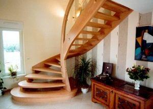 Escaliers Simon -  - Escalera Con Tramo Curvo