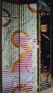 L'espace verres et miroirs -  - Biombo