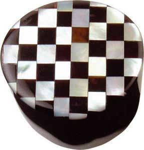 L'AGAPE - bouton de tiroir damier en nacre - Botón De Cajón