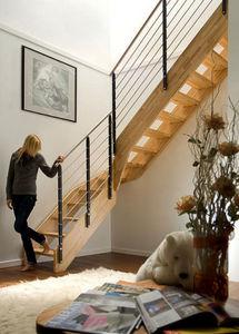 NOVALINEA - style - Escalera Con Tramo Curvo