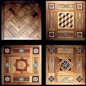 Christian Pingeon / Art Tradition Antiques - fontainebleau - Parquet Con Marquetería