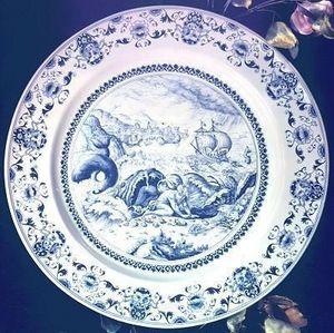 Au Violon Dingue - jonas - Plato Decorativo