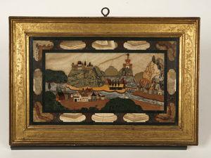 Philippe Vichot - vue du danube - Mosaico
