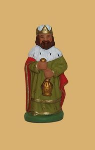 Santons Escoffier - roi mage - Figurita De Nacimiento