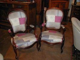 Au Mobilier Vendéen - fauteuils louis xv - Sillón Cabriolet
