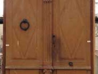 GALERIE MARC MAISON - double oak door - Puerta Antigua