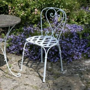 Ironart Of Bath - cafe chairs - Silla De Jardín