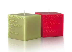 Christian Tortu Bougies - cubes - Vela Perfumada