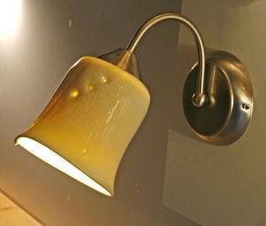AGIR  Céramique - lampe murale porcelaine à col de cygne orientable - Aplique Articulado