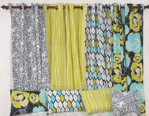 ITI  - Indian Textile Innovation - floral prints - Cojín Rectangular