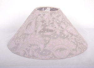 Coquecigrues - abat jour dentelle transparent - Pantalla